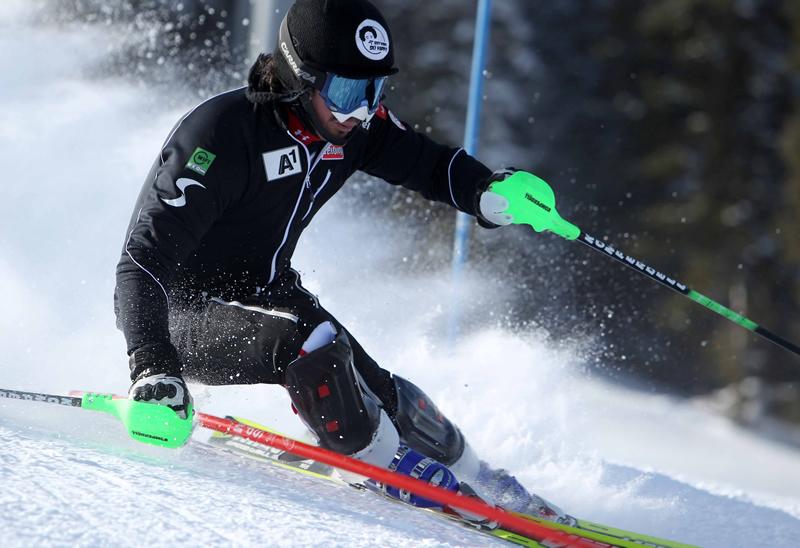 """© www.menschundmarke.at / Rainer Schönfelder: """"Ich bin wieder am Start und ich habe alles getan, um schnell Slalom fahren zu können."""""""