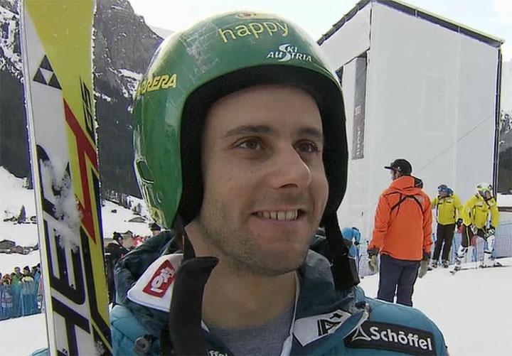 Philipp Schörghofer startet beim Riesenslalom