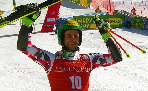 Philipp Schörghofer krönt sich zum Österreichischen Meister im Riesentorlauf