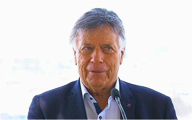 Prof. Peter Schröcksnadel wurde von Innenminister Karl Nehammer geehrt.