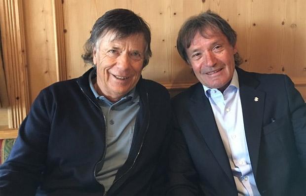 © Archivio FISI / Peter Schröcksnadel und Flavio Roda sind auch weiterhin im FIS-Council