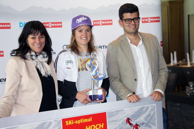 Skiregion Zillertal: Rebensburg mit Schultz-Social-Media-Award 2017 ausgezeichnet (Foto: Walter Schmid / Skiweltcup.TV)