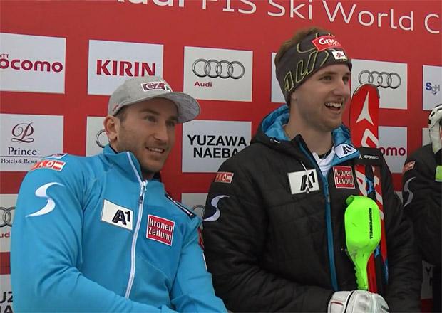 Marc Digruber und Marco Schwarz