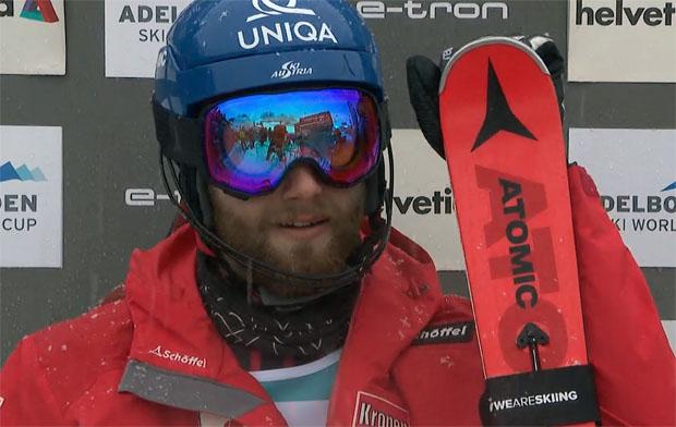 Marco Schwarz übernimmt Führung beim Slalom in Adelboden