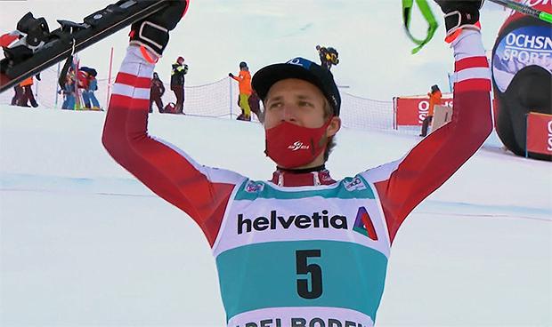 Marco Schwarz geht für den ÖSV als große Medaillenhoffnung im Slalom an den Start