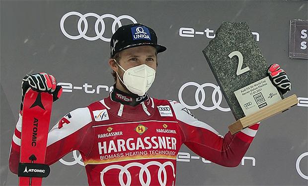 Marco Schwarz stürmt in Flachau als Zweiter aufs Podest