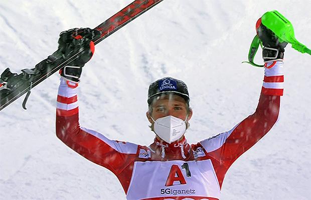 Marco Schwarz gewinnt Nightrace auf der Planai in Schladming