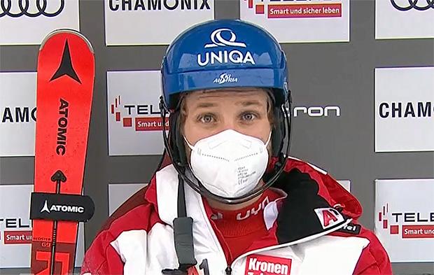 Marco Schwarz liegt beim Slalom in Chamonix nach dem 1. Durchgang knapp in Führung