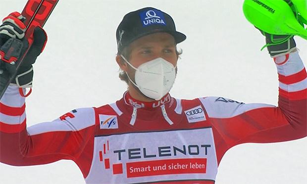 Marco Schwarz stürmt auch in Chamonix aufs Podium