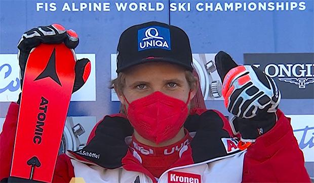 Österreicher Marco Schwarz ist Kombinations-Weltmeister 2021