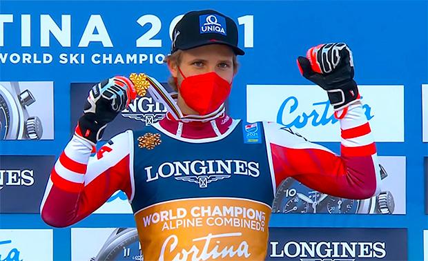 Marco Schwarz zählt auch am Sonntag, beim WM-Slalom, zu den Top-Favoriten.