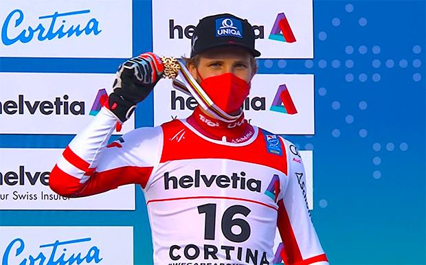 Ski WM 2021: Marco Schwarz holt Bronze im Riesenslalom