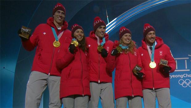Medaillenreicher Auftritt der Swiss-Ski Olympioniken