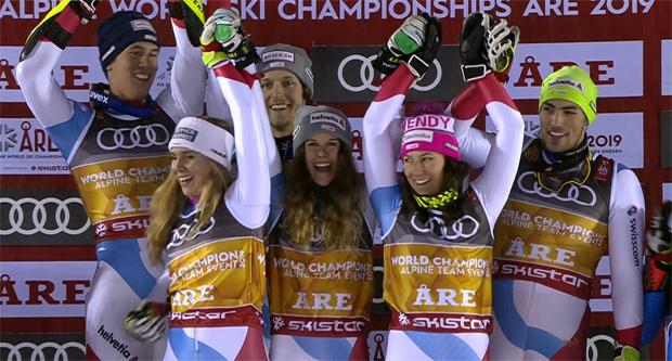 Mannschafts-Olympiasieger und Weltmeister Schweiz will jetzt auch noch den Nationencup.