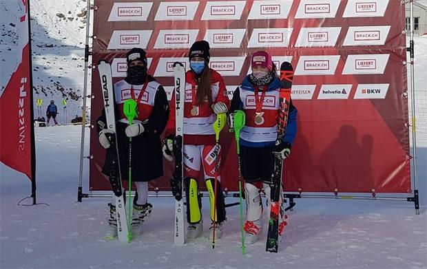 Swiss-Ski: Erster Schweizer Meistertitel für Amélie Klopfenstein (Foto: © Swiss-Ski.ch)