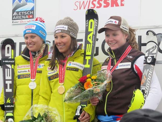 © swiss-ski.ch  /  Wendy Holdener - Schweizer Meisterin im Slalom