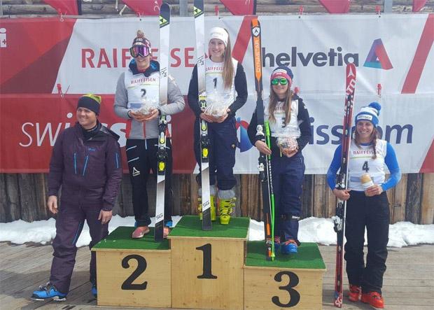 Nathalie Gröbli gewinnt Schweizer Super-G Titel (Foto: Swiss-Ski.ch)
