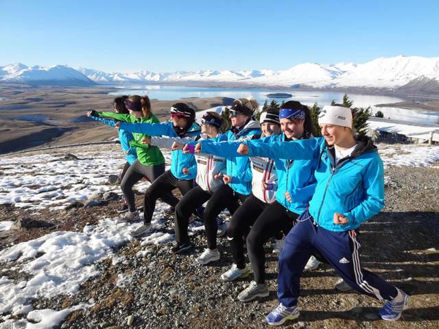 Schlagkräftiges Schweizer Damen Team in NZL