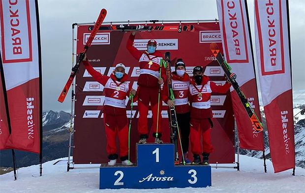 Marco Reymond krönt sich zum Schweizer Meister im Riesenslalom (Foto: © Swiss-Ski.ch)