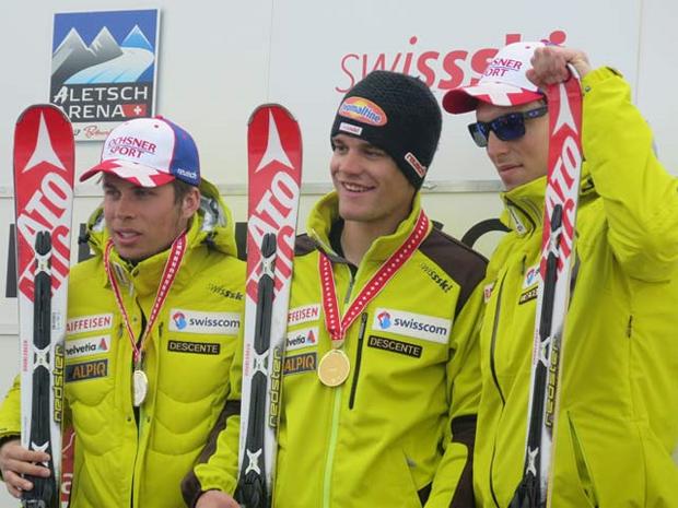 © swiss-ski.ch /  Thomas Tumler - Schweizer Meister im Riesenslalom