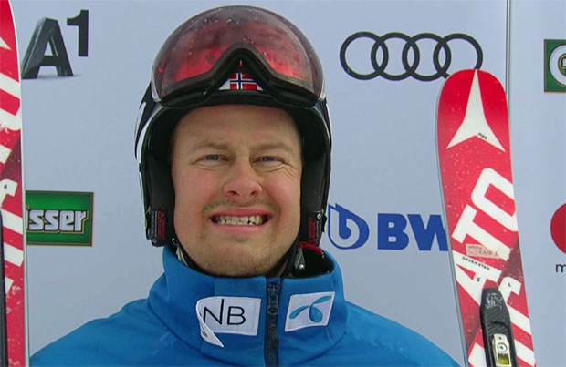 Adrian Smiseth Sejersted gewinnt 1. Europacup-Abfahrt in Kvitfjell