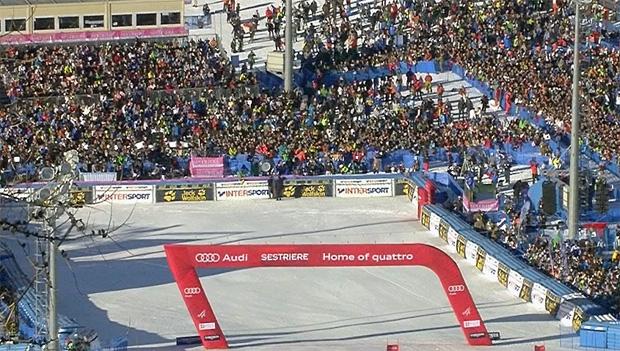 FISI-Präsident Flavio Roda freut sich über das Weltcupcomeback von Sestriere