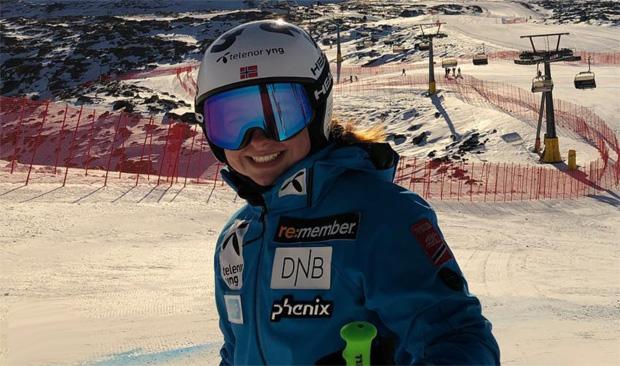 Hannah Sæthereng krönt sich zur Junioren Super-G Weltmeisterin (Foto: Hannah Sæthereng / instagram)