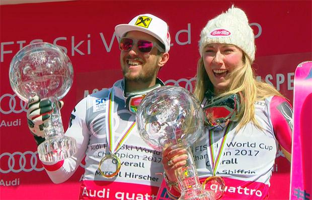 Marcel Hirscher & Mikaela Shiffrin