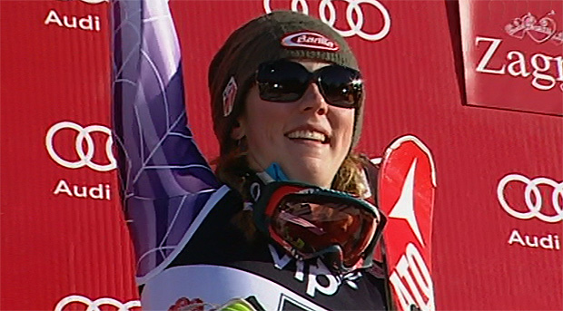 Mikaela Shiffrin (USA) gewinnt Slalom in Zagreb