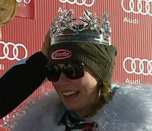 Mikaela Shiffrin krönt sich in Zagreb erneut zur Schneekönigin
