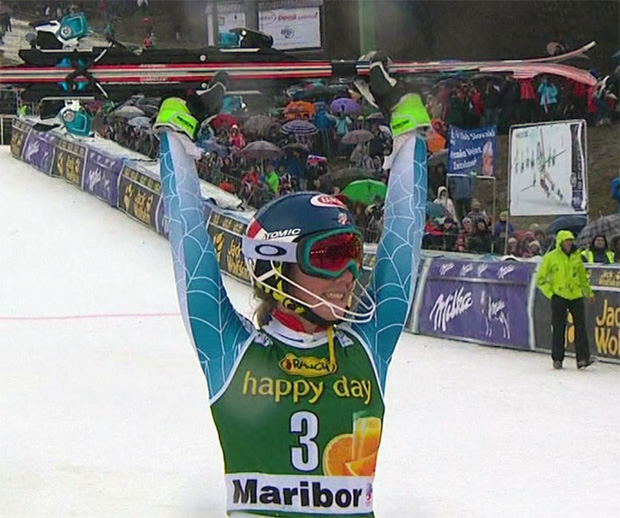 Shiffrin gewinnt überlegen den Slalom von Maribor