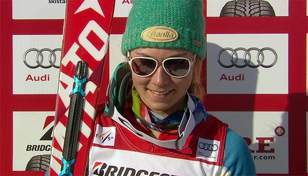 Mikaela Shiffrin dominiert ersten Slalomdurchgang in Are
