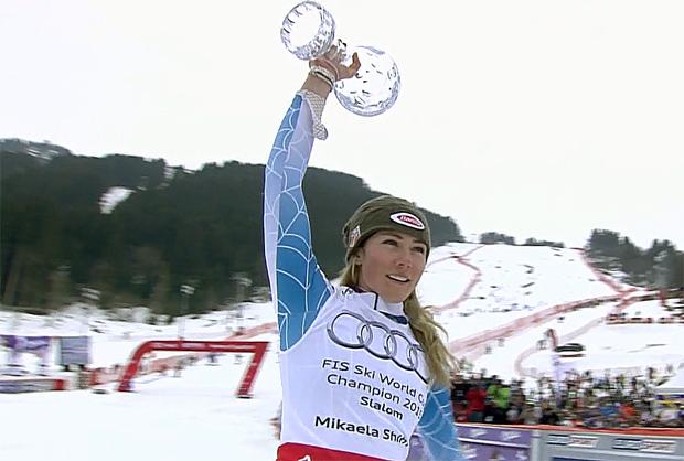 Sieg, Kugel und 1000 Punkte für Mikaela Shiffrin