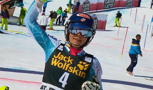 Mikaela Shiffrin gewinnt Slalom in St. Moritz