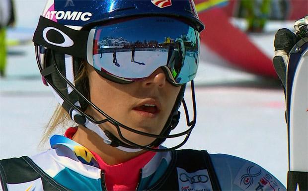 Mikaela Shiffrin und der Buchstabensalat auf den Skiern