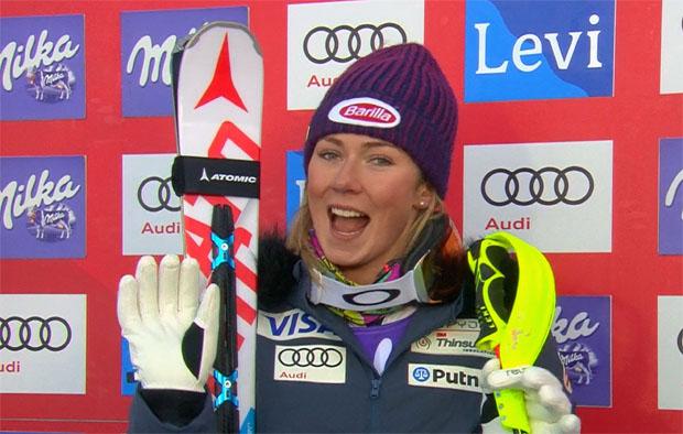 Der Sieg beim Slalom in Killington kann nur über die große Favoritin Mikaela Shiffrin führen.
