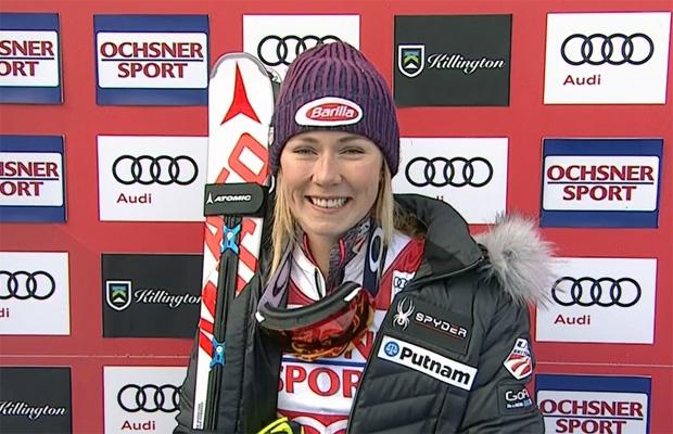 Mikaela Shiffrin dominiert ersten Slalomdurchgang in Killington