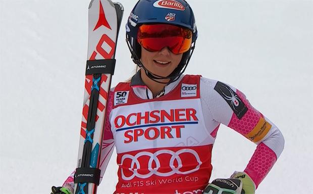 Mikaela Shiffrin feiert ihren 21. Slalomsieg im Weltcup