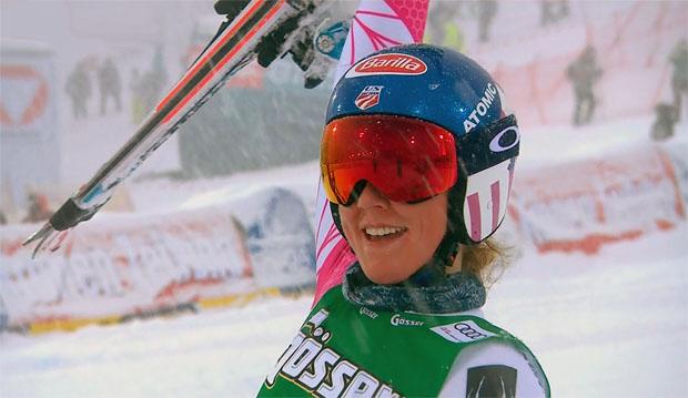 Mikaela Shiffrin gewinnt auch zweiten Riesentorlauf am Semmering