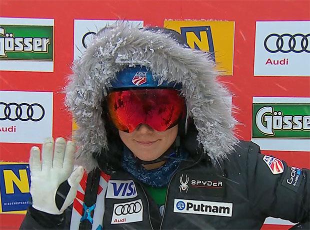 Wird Slalom-Königin Mikaela Shiffrin auch das dritte Rennen auf dem Zauberberg für sich entscheiden?