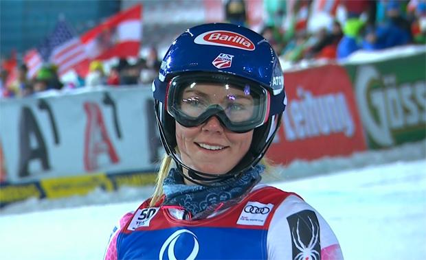 Mikaela Shiffrin ist für die USA in St. Moritz eine Medaillen-Bank