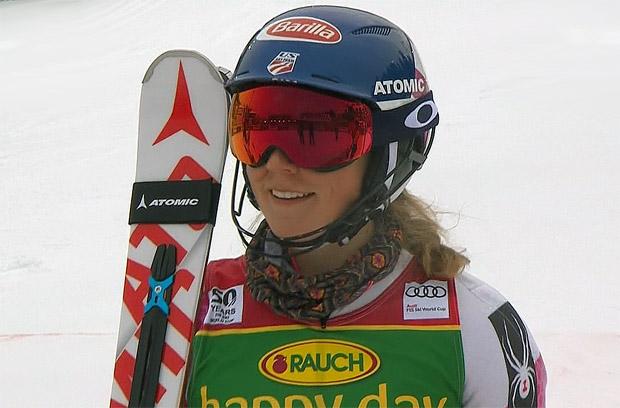 Mikaela Shiffrin gewinnt Slalomrennen in Maribor