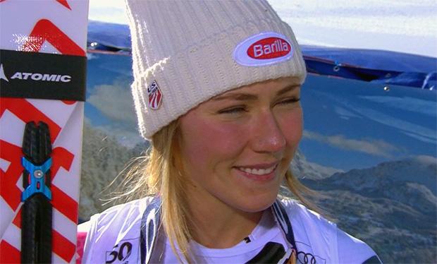 Mikaela Shiffrin überrascht beim Super-G in Cortina mit Platz vier