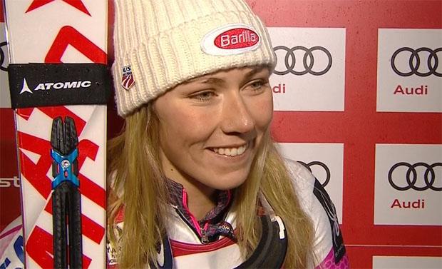 Mikaela Shiffrin baut Vorsprung im Gesamtweltcup weiter aus.