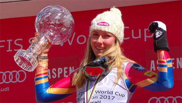 Gesamtweltcupsiegerin Mikaela Shiffrin