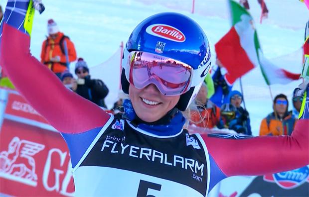 Mikaela Shiffrin dominiert auch Riesentorlauf in Courchevel