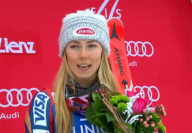 Mikaela Shiffrin dominiert Lienz-Slalom nach Belieben und holt sich Sieg
