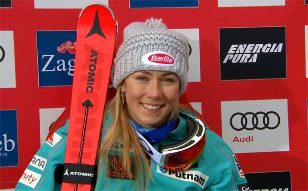 Mikaela Shiffrin peilt im Riesenslalom die erste Olympiamedaille 2018 an