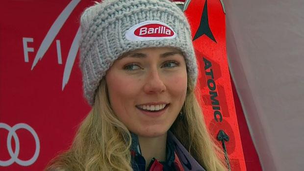 Mikaela Shiffrin will den vierten Weltcup-Slalom in Folge gewinnen