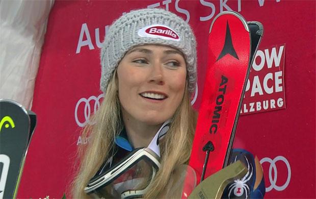 Mikaela Shiffrin gewinnt Nachtslalom von Flachau